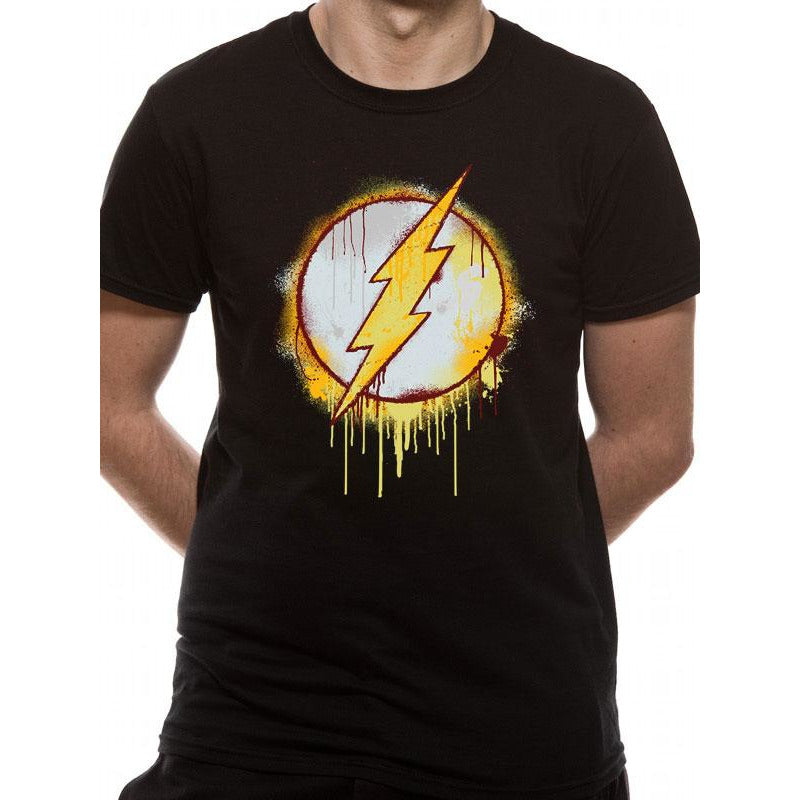 The Flash | Splatter Logo T-Shirt