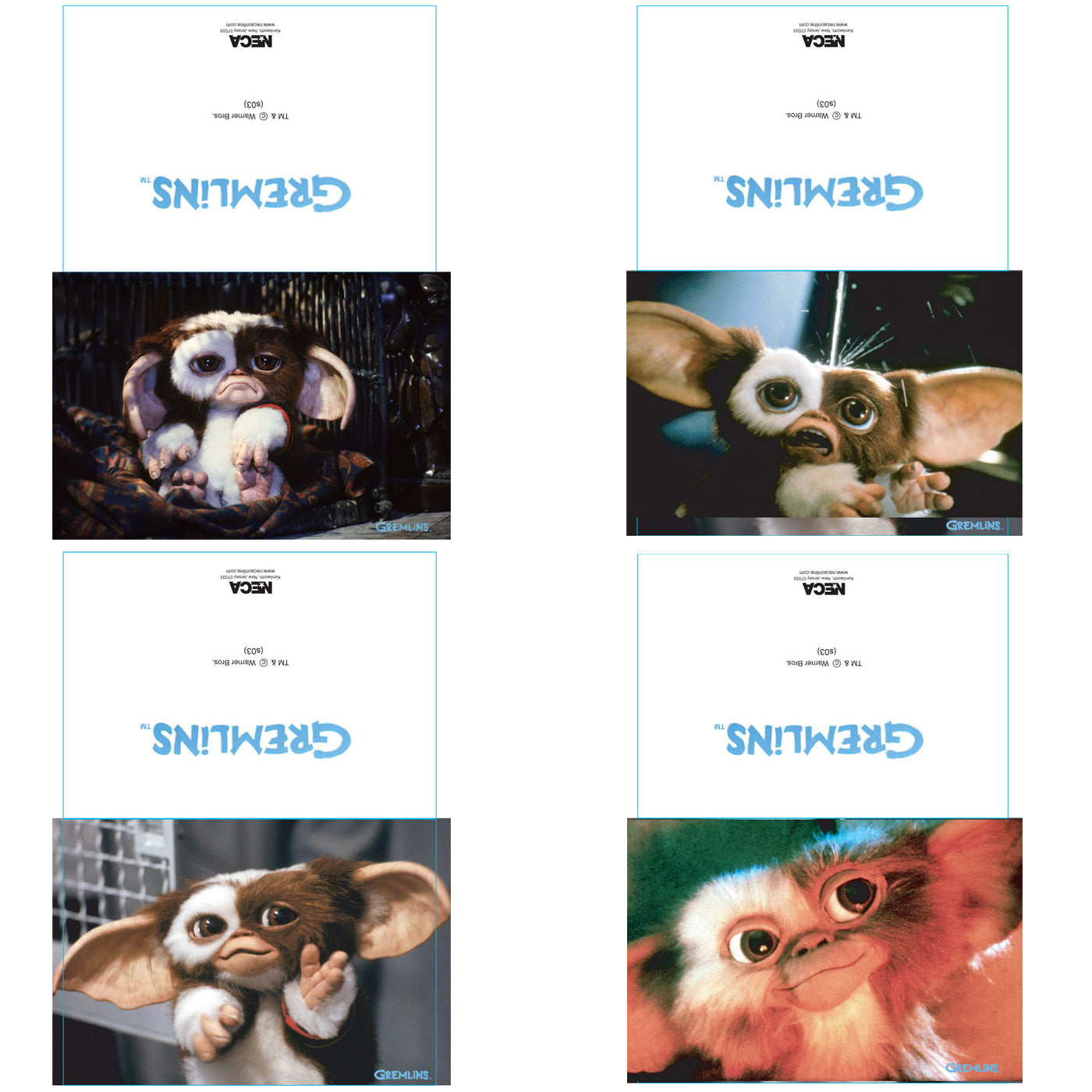 Buy Gremlins Logo Greeting Card Set At Loudshop For Only 300