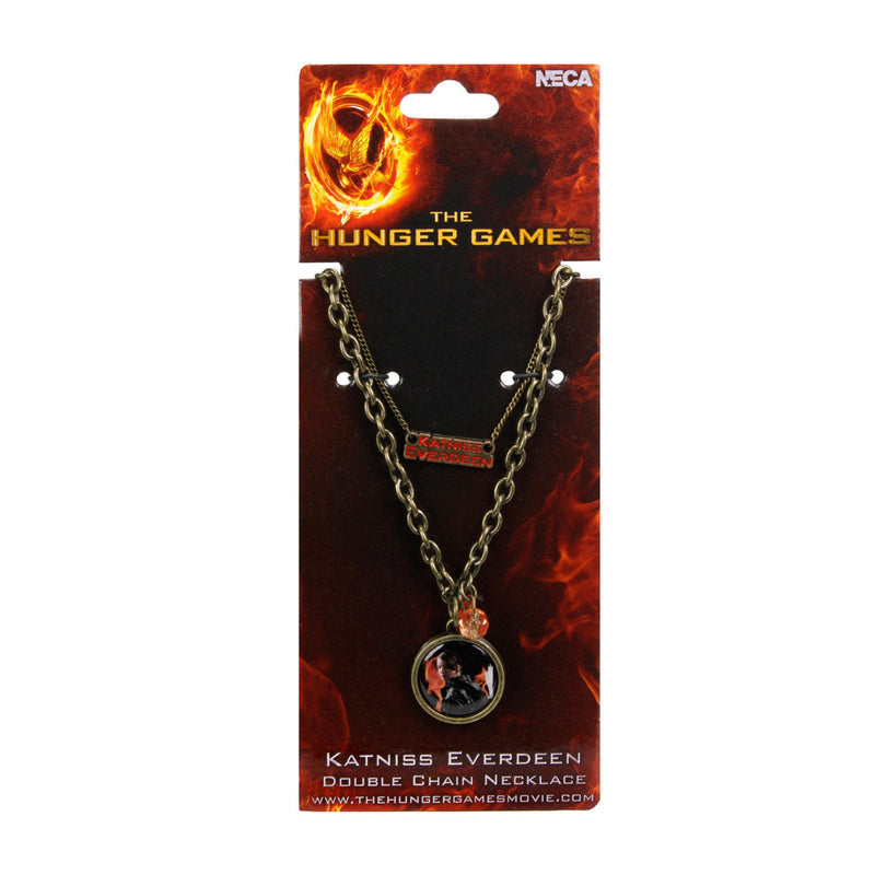 The Hunger Games: Girl On Fire | Katniss Everdeen Double Chain Necklace