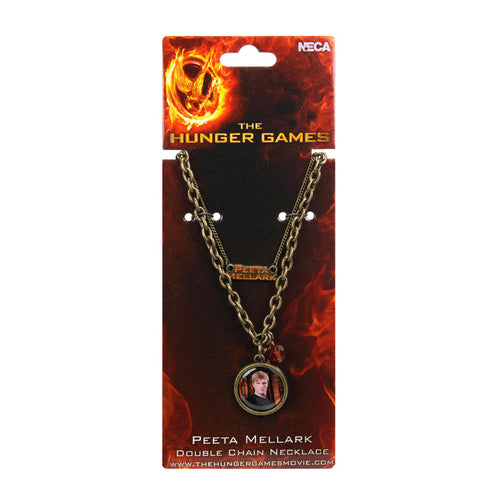 The Hunger Games: Girl On Fire | Peeta Double Chain Necklace