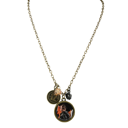 The Hunger Games: Girl On Fire | Katniss District 12 Necklace