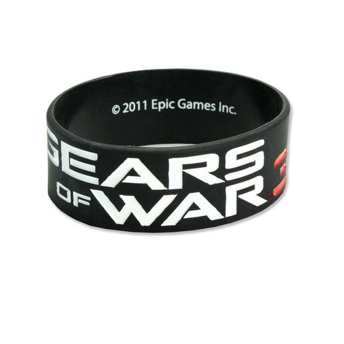Gears Of War 3 | Logo Rubber Bracelet