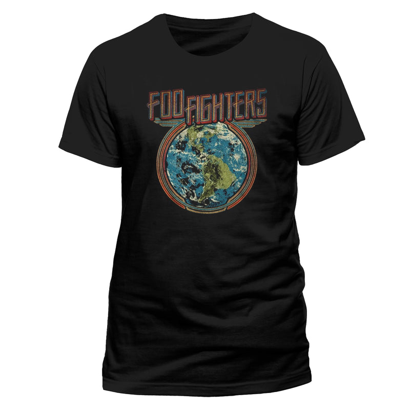 Foo Fighters - Globe T-shirt