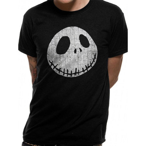 The Nightmare Before Christmas - Jack Skellington Face T-shirt