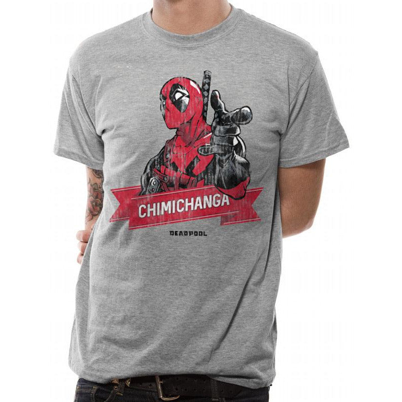 Deadpool Chimichanga T-shirt