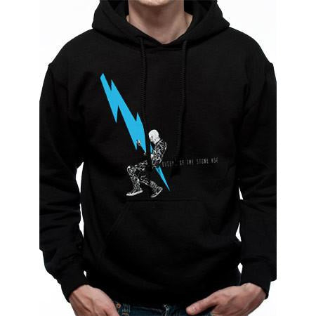 Buy Queens Of The Stone Age (Lightning Dude) Hoodie online at Loudshop.com
