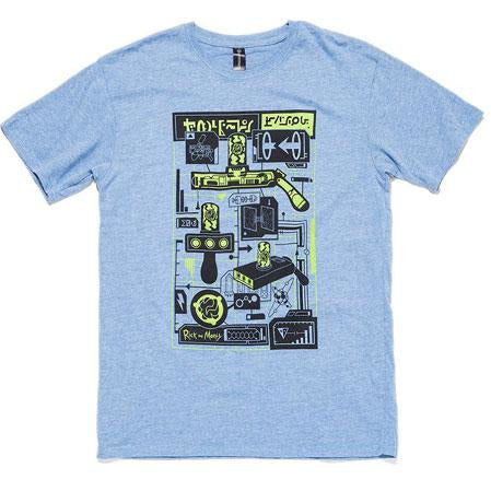 Rick and Morty | Portal Gun Fitted T-shirt