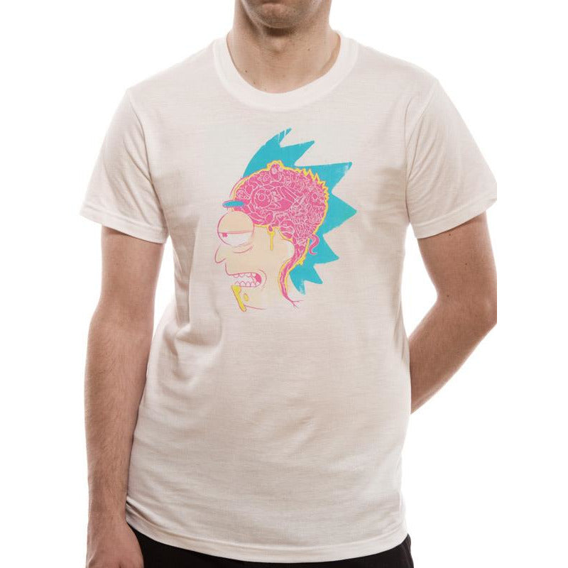 Rick and Morty | Brain White T-shirt