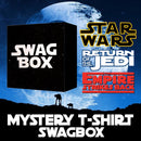 Star Wars 3 T Shirt Mystery Swag Box