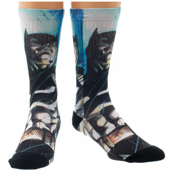 Superman - Sublimated Crew Socks