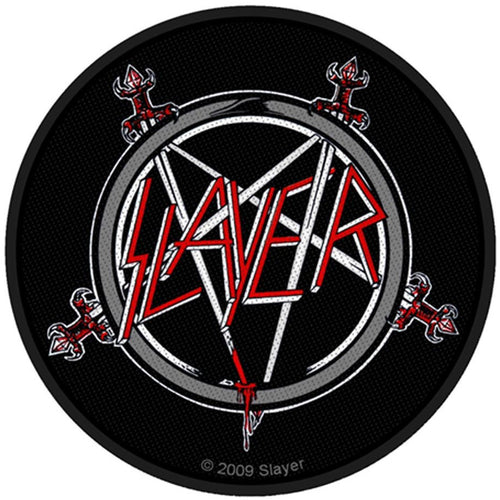Slayer (Pentagram) Standard Patch