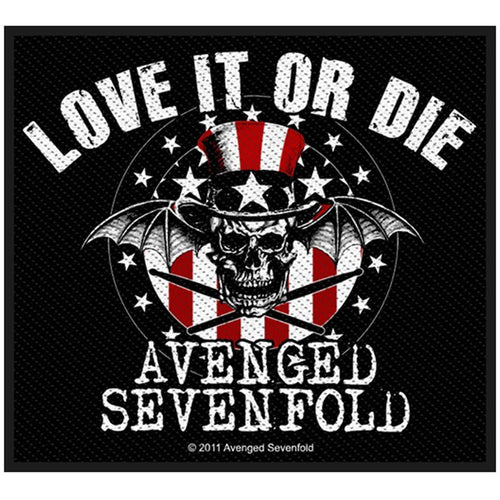 Avenged Sevenfold (Love It Or Die) Standard Patch