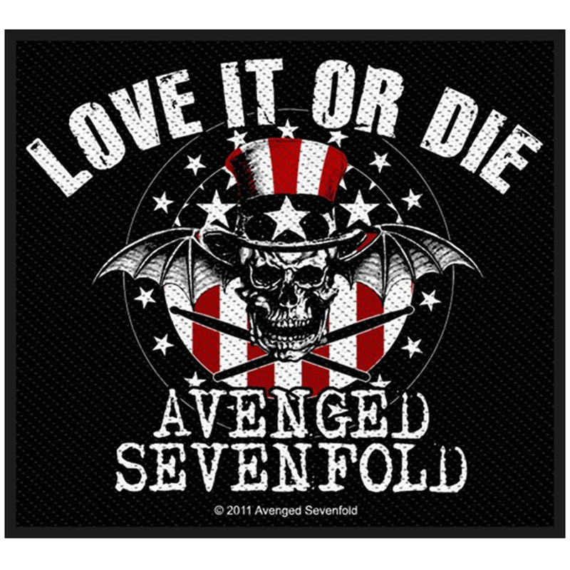 Avenged Sevenfold | Love It Or Die Standard Patch