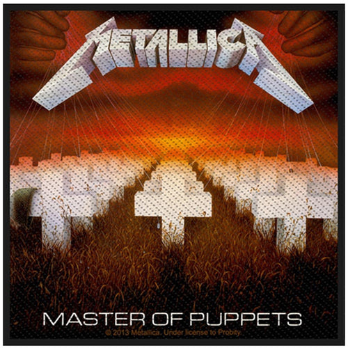 Buy Metallica (Master Of Puppets) Standard Patch online at Loudshop.com