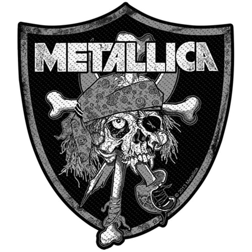 Metallica (Raiders Skull) Standard Patch