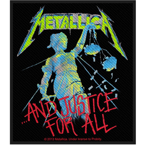 Metallica (And Justice For All) Standard Patch