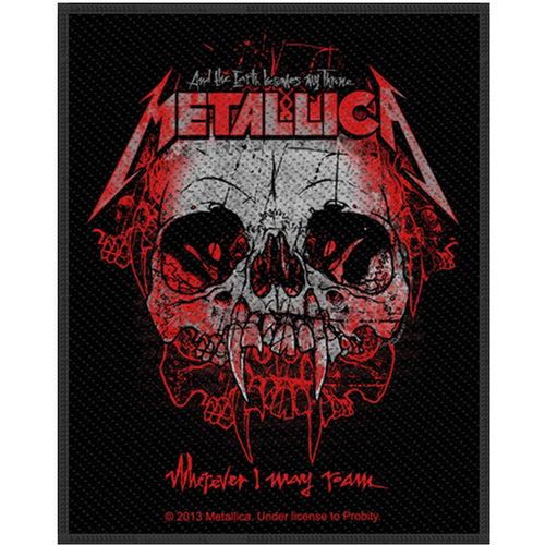 Metallica (Wherever I May Roam) Standard Patch