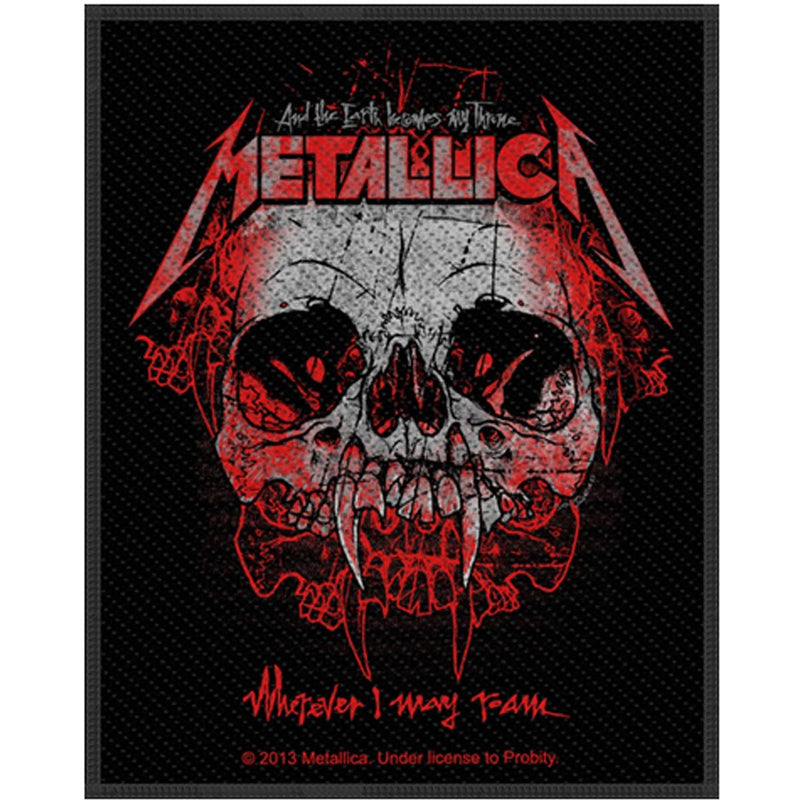 Metallica - Wherever I May Roam Standard Patch