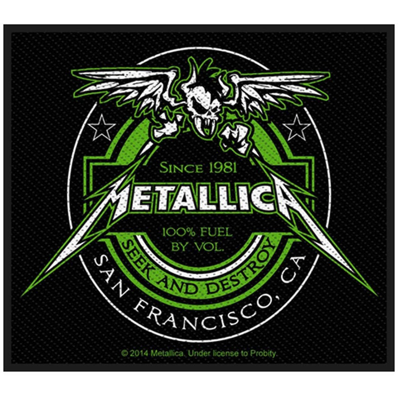 Metallica - Beer Label Standard Patch