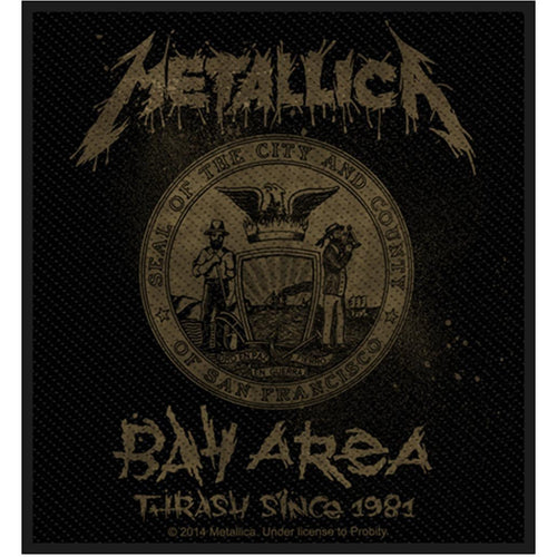 Metallica | Bay Area Thrash Standard Patch