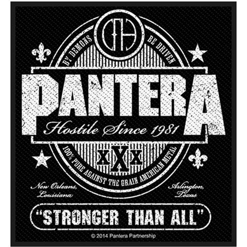 Pantera (Stronger Than All) Standard Patch