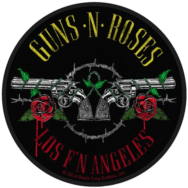 Buy Guns N Roses (Los F'N Angeles) Standard Patch online at Loudshop.com