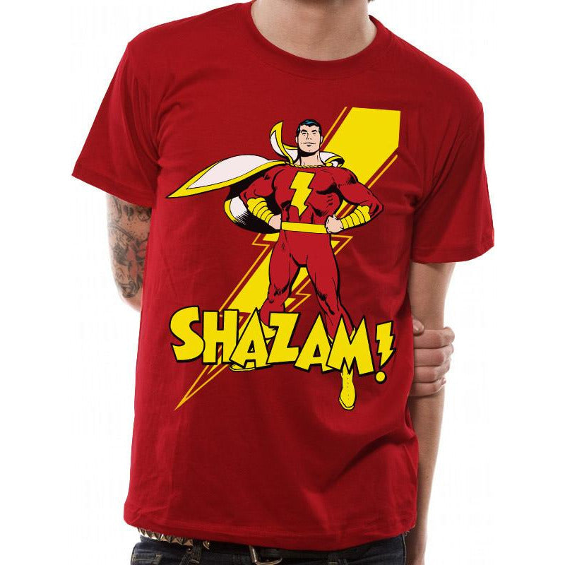 Buy Shazam! (Pose) T-shirt online at Loudshop.com