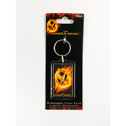 The Hunger Games: Girl On Fire | Stronger Lucite Keyring