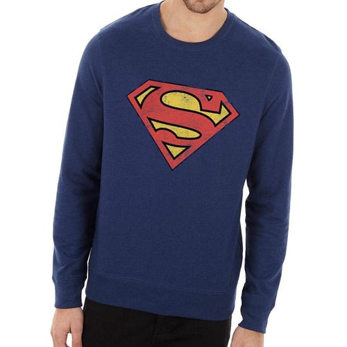 Buy Superman (Vintage Logo) Crew Neck online at Loudshop.com