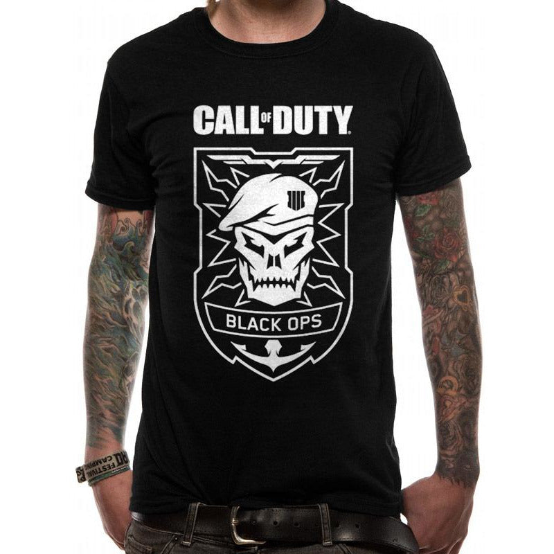 Call Of Duty - Black Ops Skull T-shirt