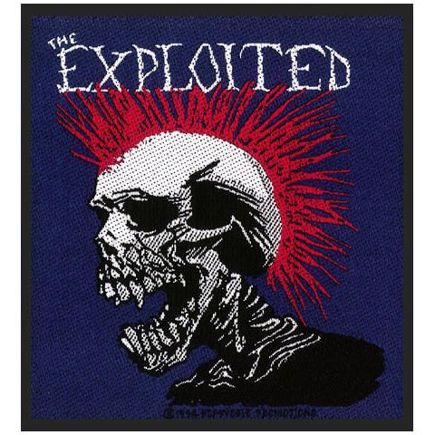 Buy The Exploited (Mohican Multicolour) Patch online at Loudshop.com