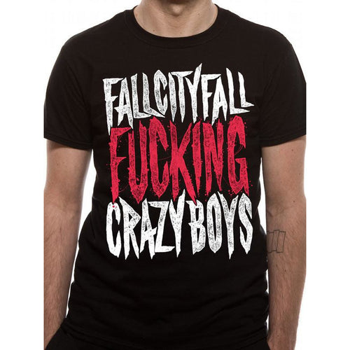 Buy Fall City Fall (Crazy) T-shirt online at Loudshop.com