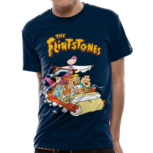 The Flintstones Car T-shirt