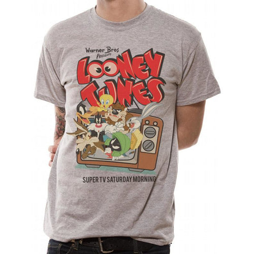 Looney Tunes - Retro TV T-shirt