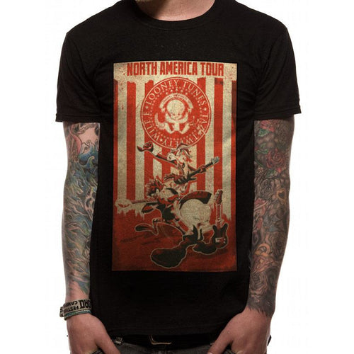 Looney Tunes | Tour Poster T-shirt