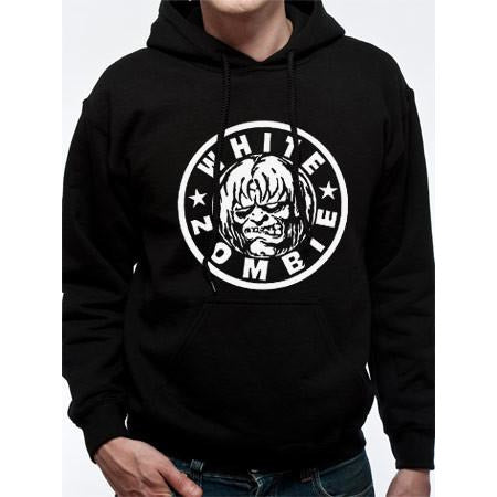 Buy White Zombie (Classic Logo) Hoodie online at Loudshop.com