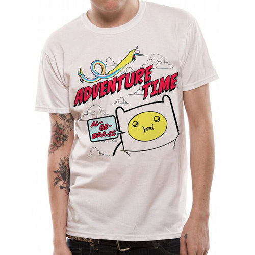 Buy Adventure Time (Algebraic) T-shirt online at Loudshop.com