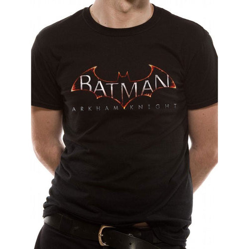 Buy Batman (Arkham Logo) T-shirt online at Loudshop.com