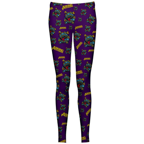 Buy Asking Alexandria (Eyeballs) Leggings online at Loudshop.com