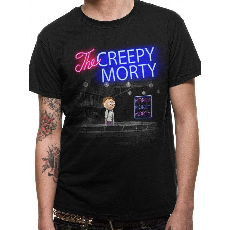 Rick And Morty | Bartender Morty T-Shirt