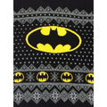 Batman Logo Knitted Christmas Jumper