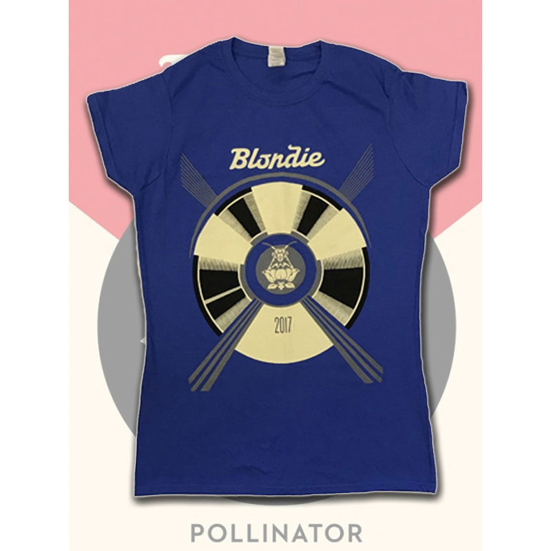Blondie Pollinator Tour 2017 Fitted Shirt