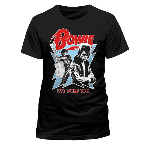 David Bowie | World Tour 1972 T-Shirt