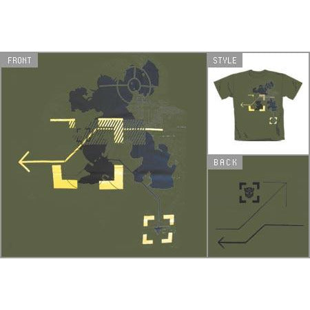 Buy Transformers 2 (Map & Arrows) T-shirt online at Loudshop.com