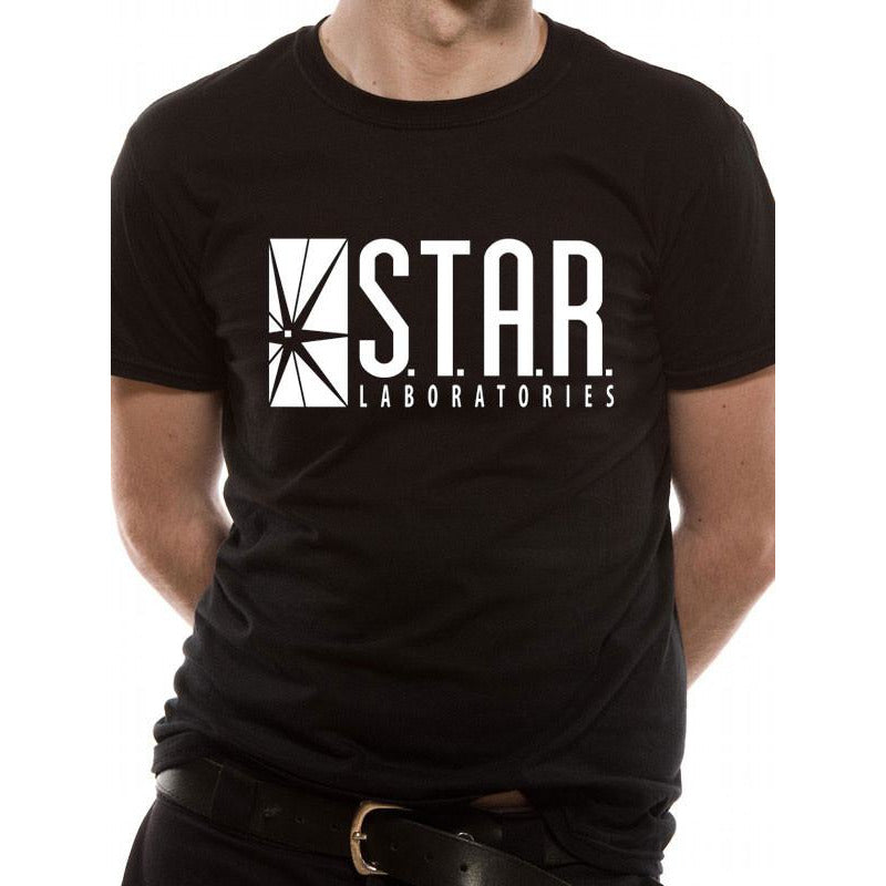 Buy The Flash (STAR Labs) T-shirt online at Loudshop.com