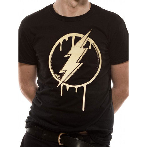 Buy The Flash (Dripping Logo) T-shirt online at Loudshop.com