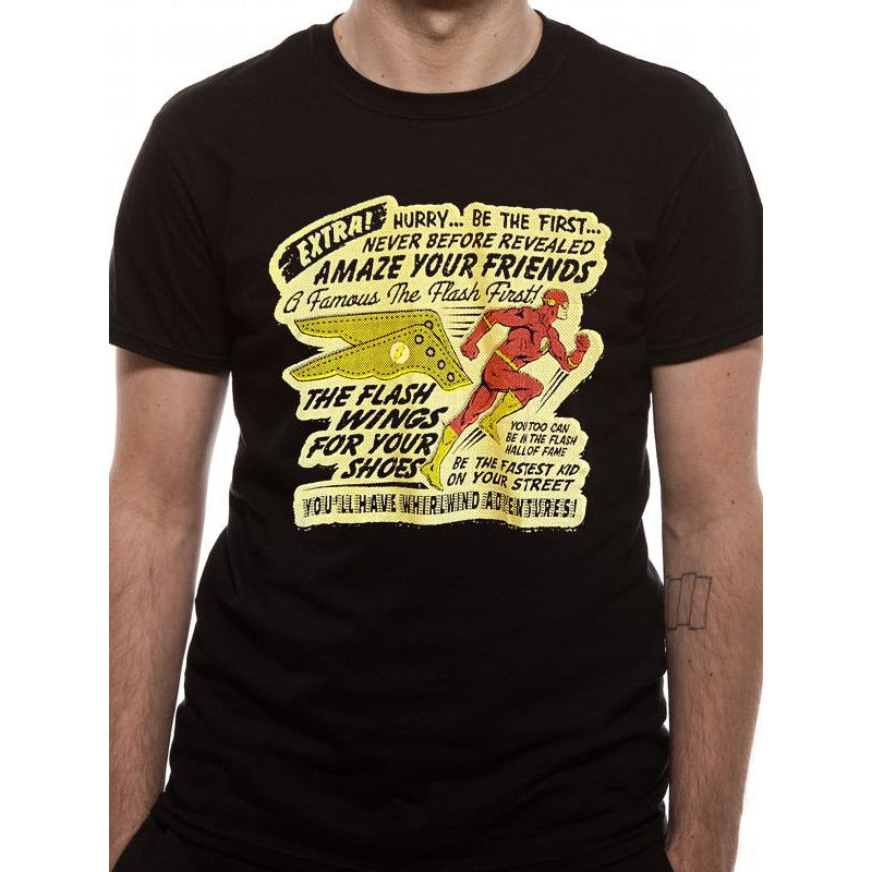 The Flash | Wings T-Shirt