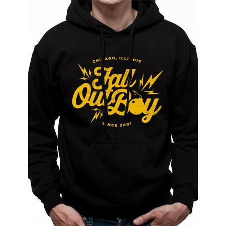 Buy Fall Out Boy (Bomb) Hoodie online at Loudshop.com