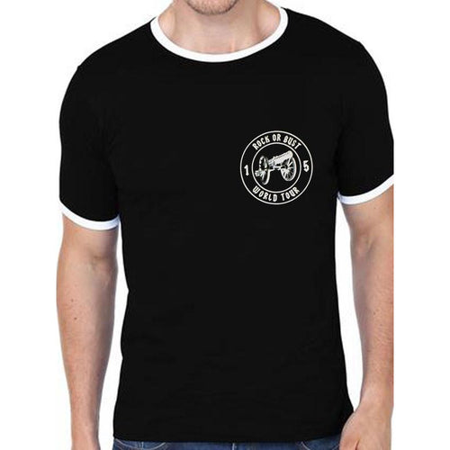 Buy AC/DC (Football Ringer No.15) T-Shirt online at Loudshop.com