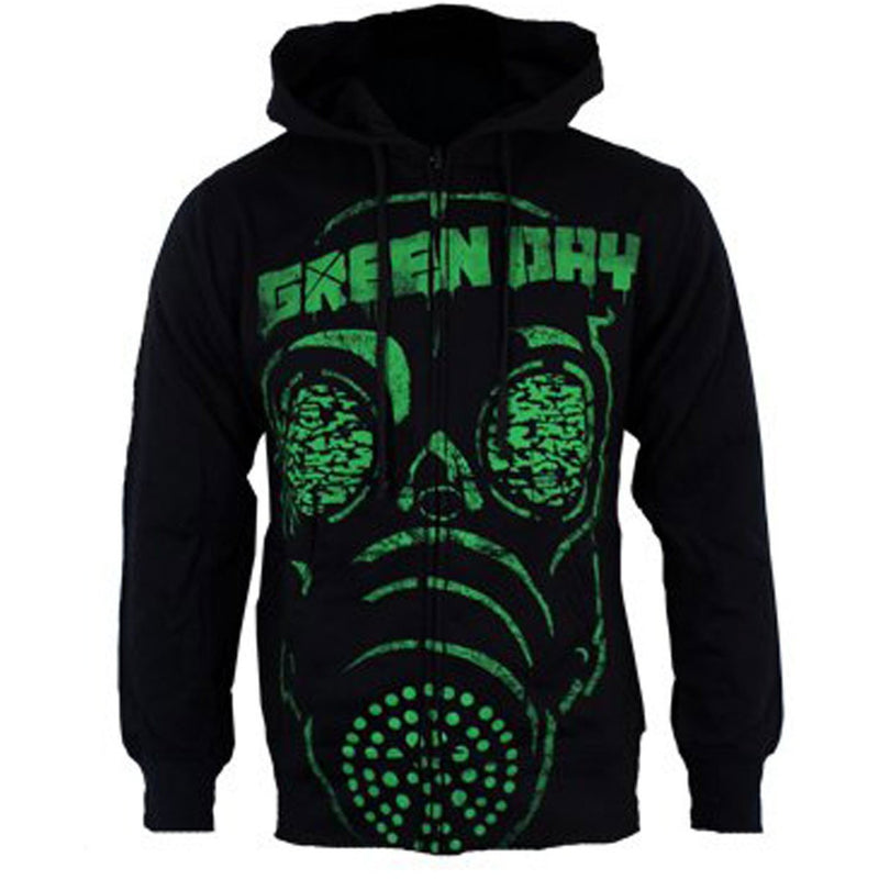 Buy Green Day (Gas Mask) Hoodie online at Loudshop.com